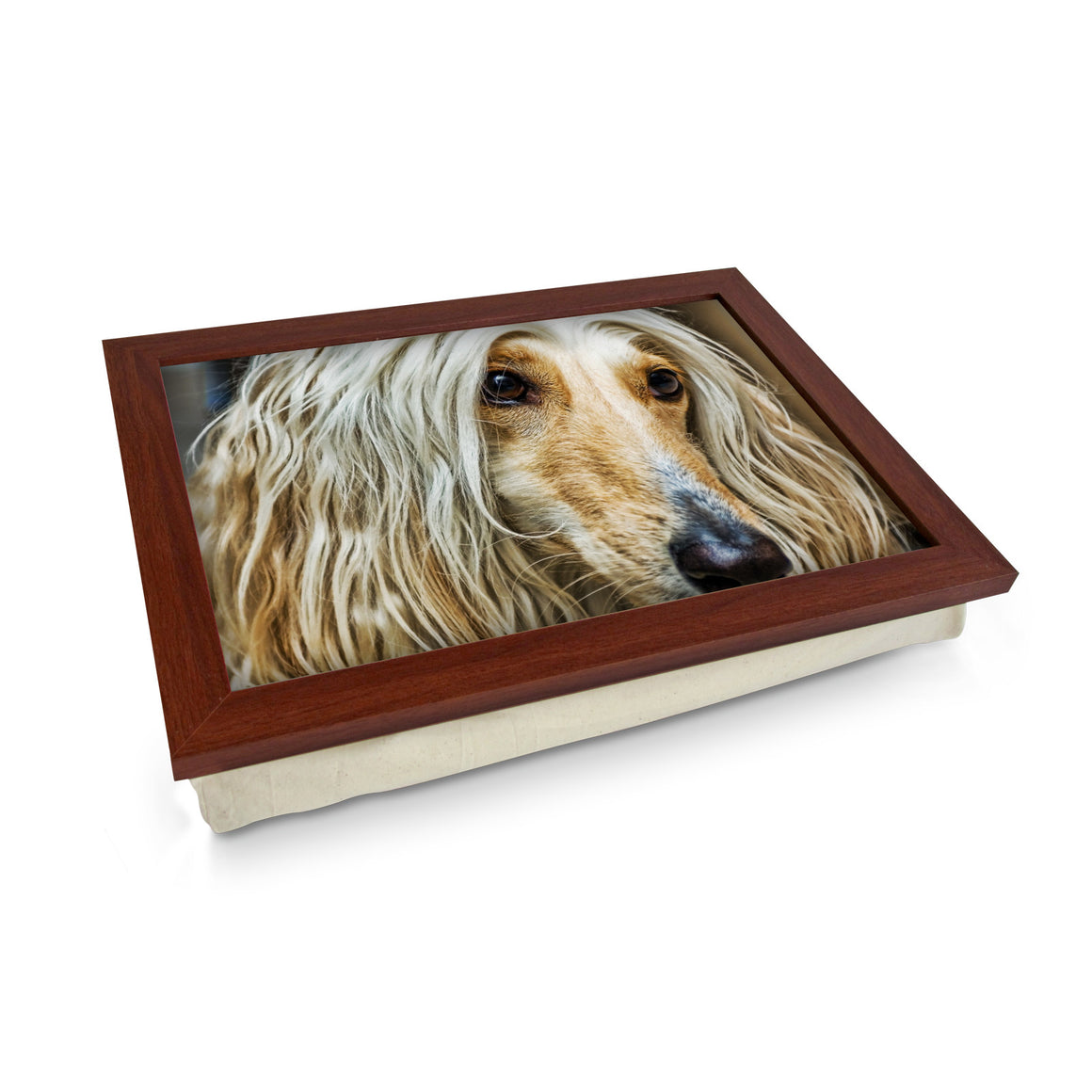 Afghan Dog Lap Tray - L0006