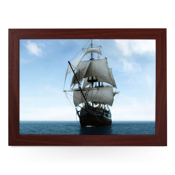 Galleon Ship Lap Tray - L0010