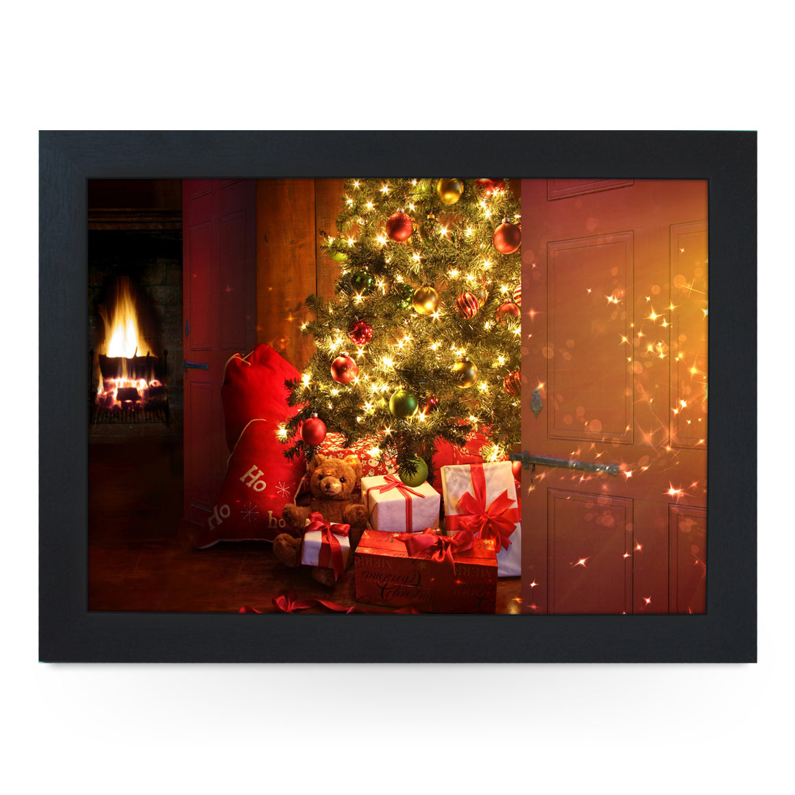 Presents Under The Christmas Tree Lap Tray - L0023