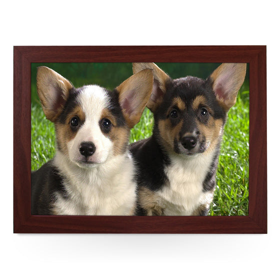 Corgi Puppies Lap Tray - L0024