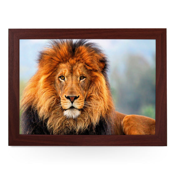 Majestic Lion Lap Tray - L0051