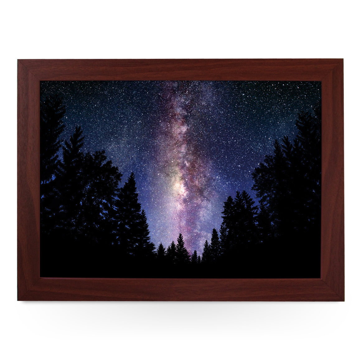 Milky Way Night Sky Lap Tray - L0056
