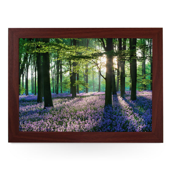 Violet Field In Woods - L0069