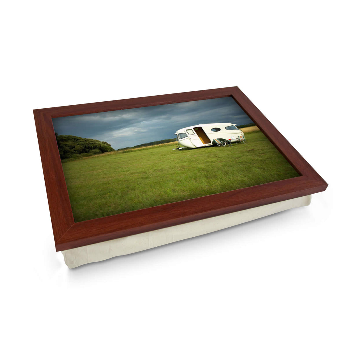 Caravan In Field Lap Tray