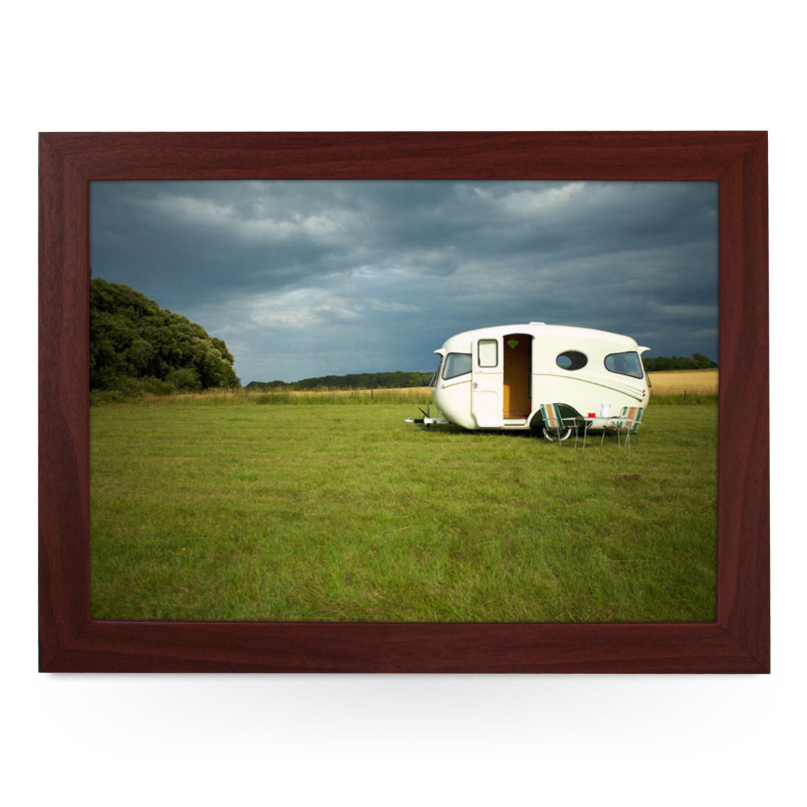 Caravan In Field Lap Tray - L0070