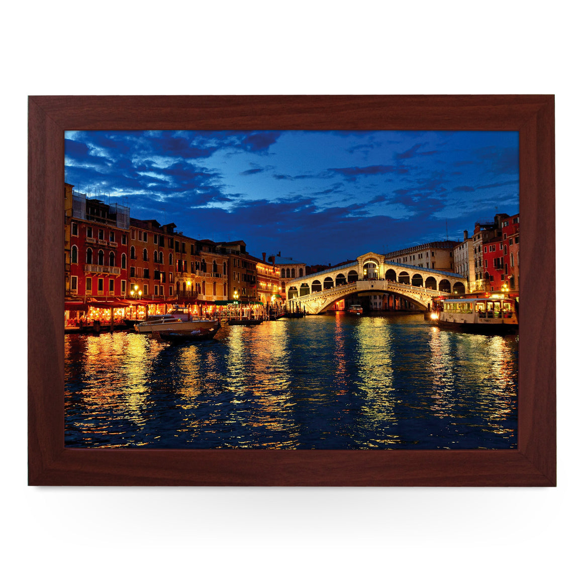 Venice Rial to Bridge Lap Tray - L0071