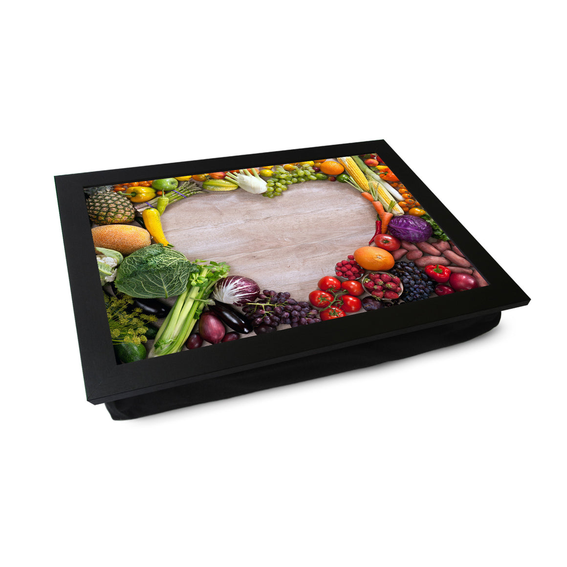 Vegetable Heart Lap Tray - L0073