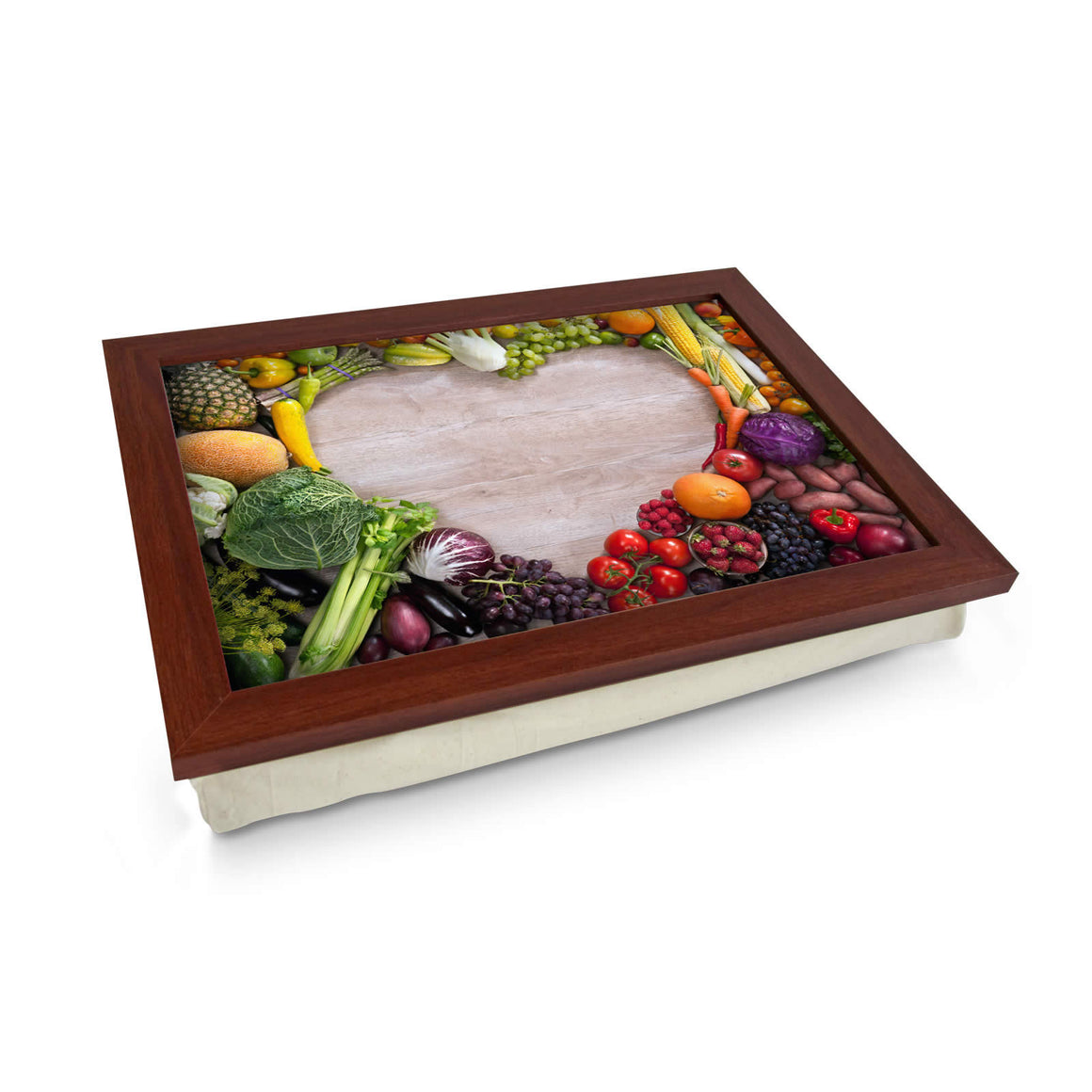 Vegetable Heart Lap Tray