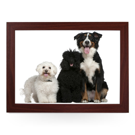Three Dog Breeds Lap Tray - L0080