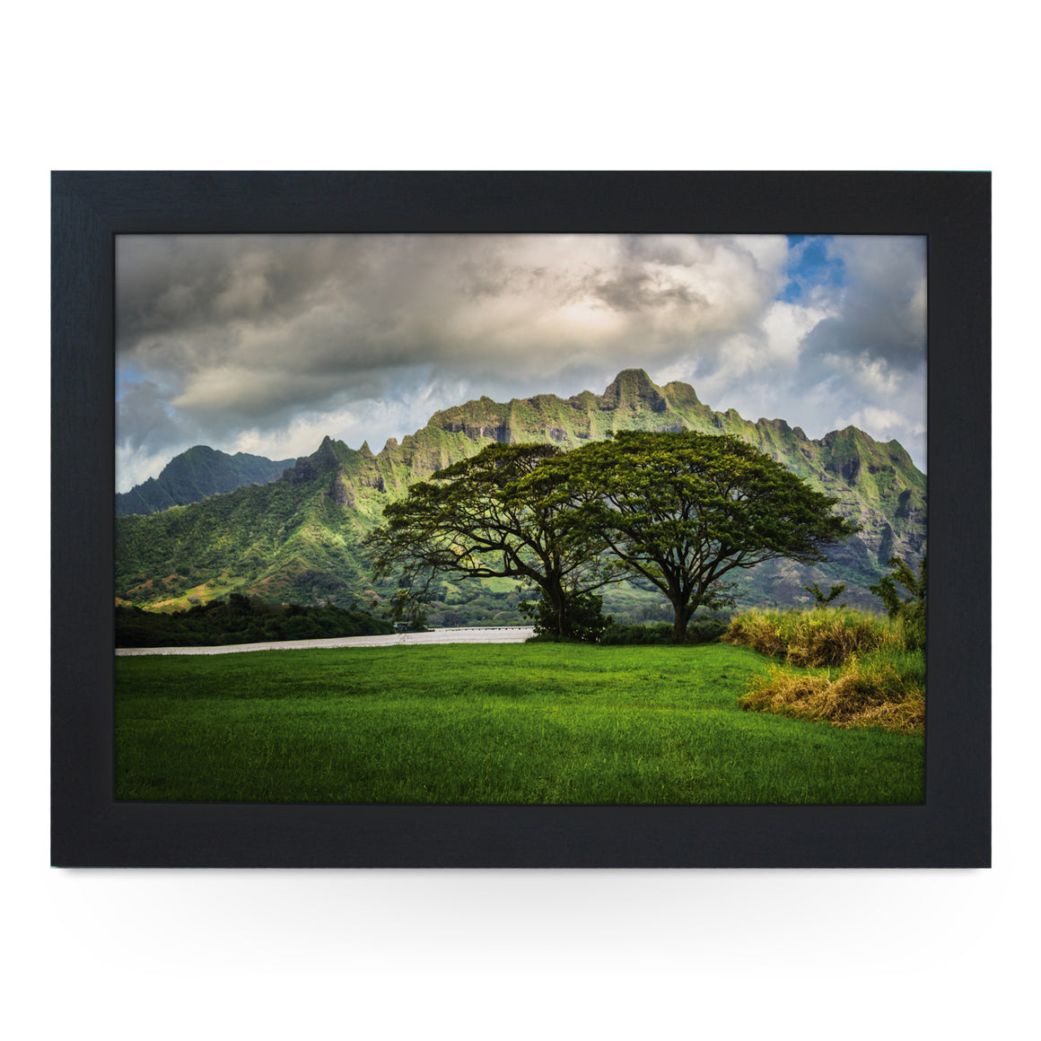 Lost Cliffs Of Oahu Lap Tray - L0081