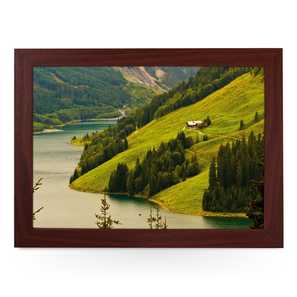 House on a Hill Lap Tray - L0093