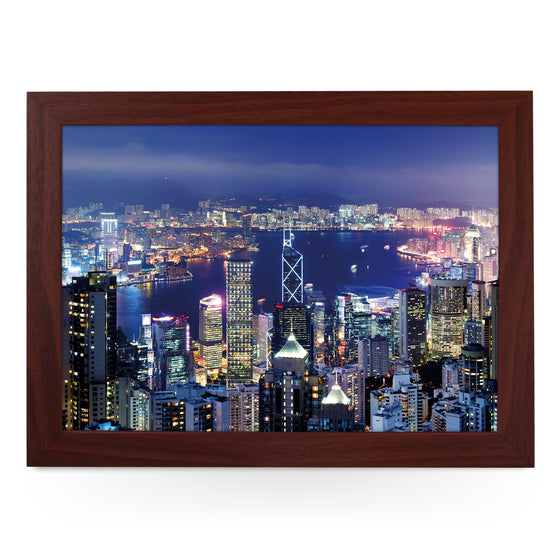 Hong Kong at Night Lap Tray - L0096