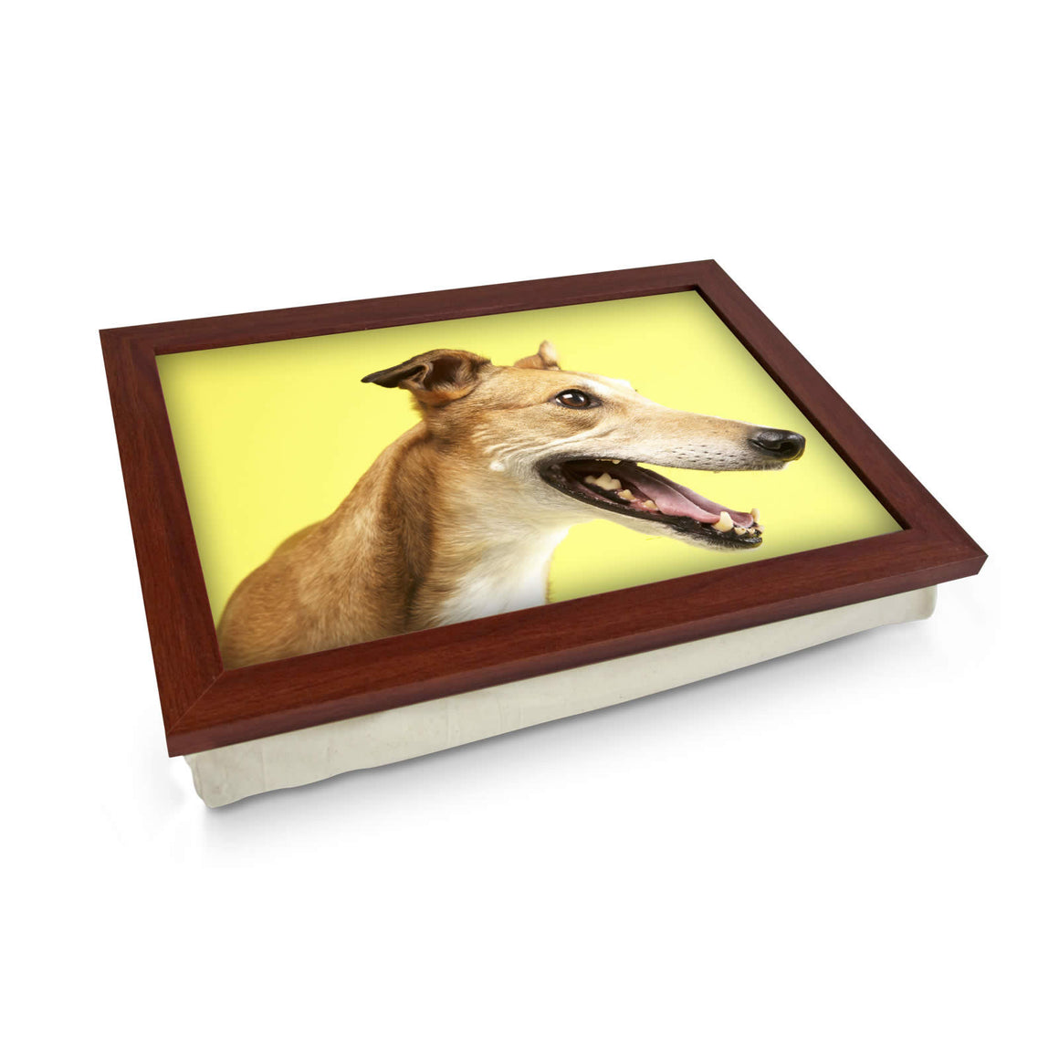 Greyhound cushioned lap tray