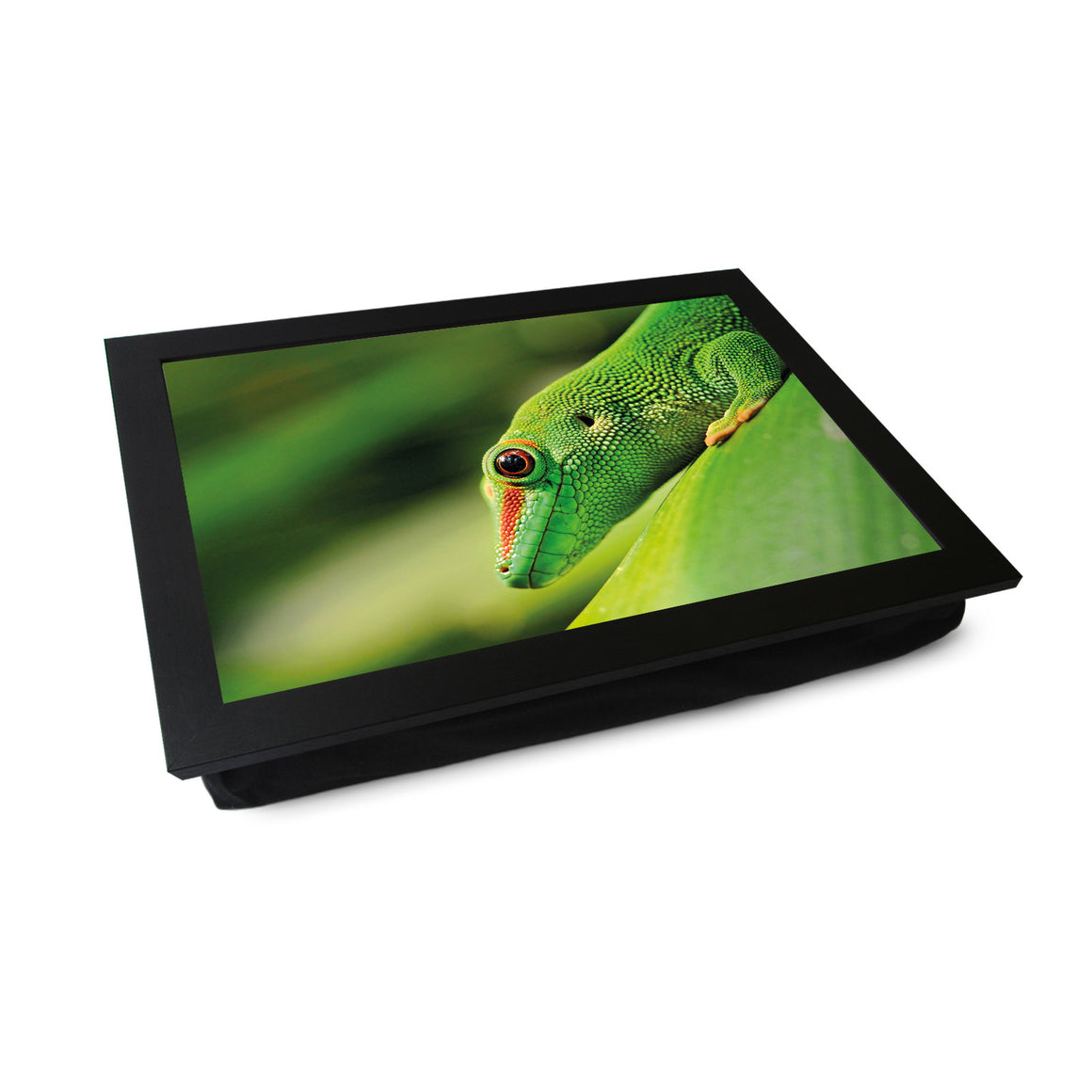 Green Gecko Lap Tray - L0101