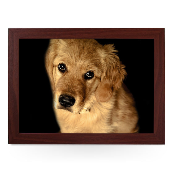 Golden Retriever Dog Lap Tray - L0106