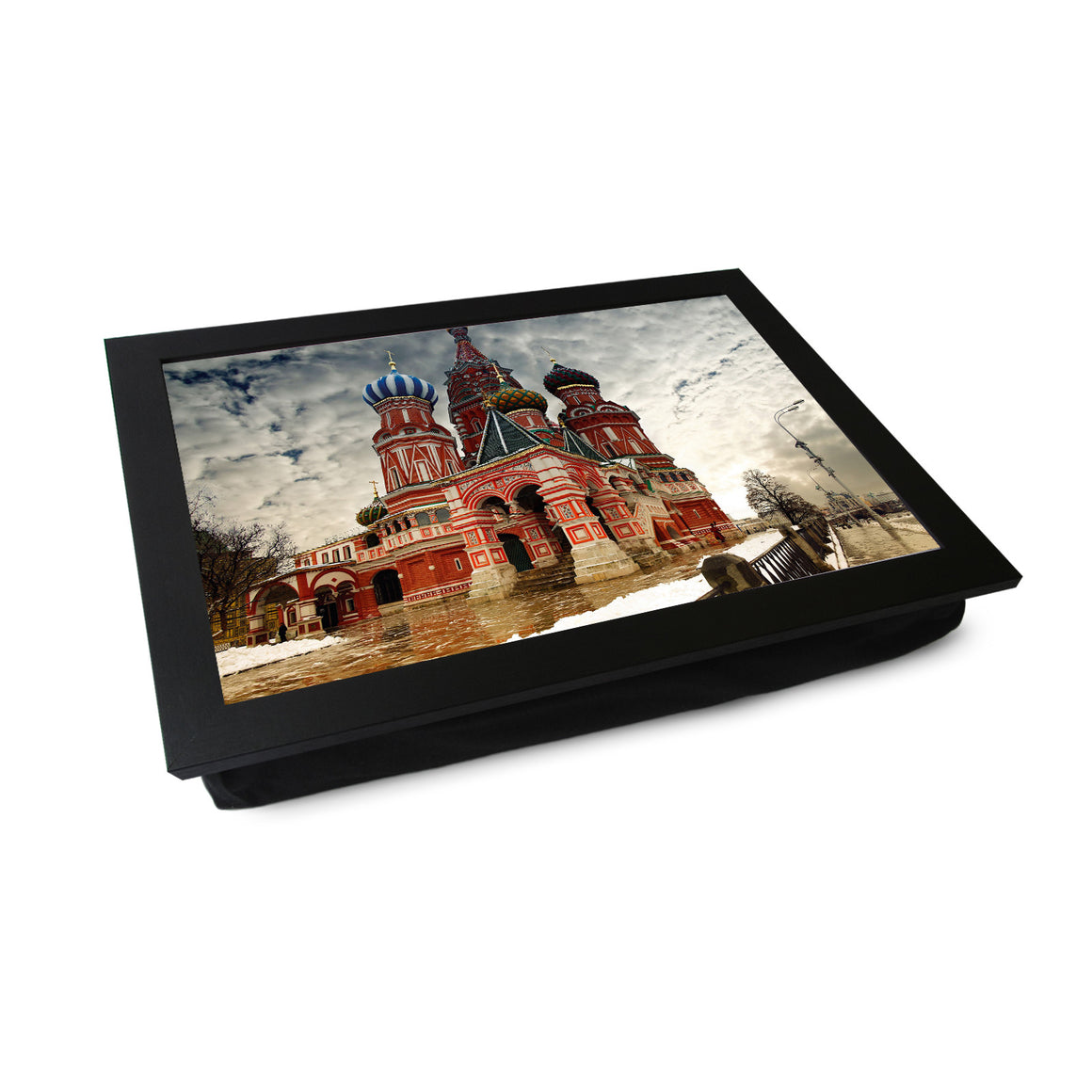Moscow St Basil's Cathedral Lap Tray - L0111