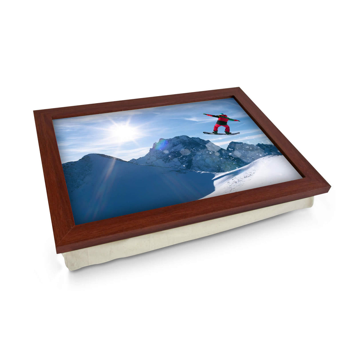 Snow Boarder Lap Tray