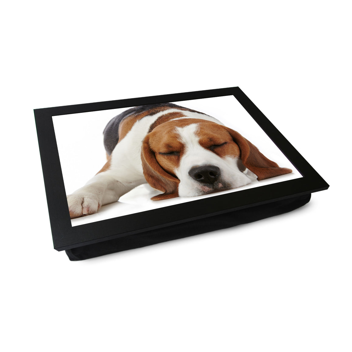 Sleeping Beagle Lap Tray - L0115