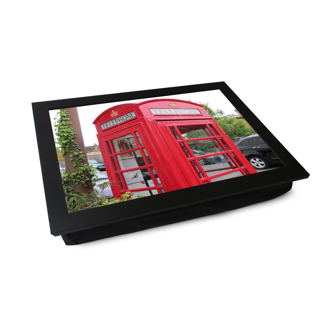 Red Telephone Box Lap Tray - L0122