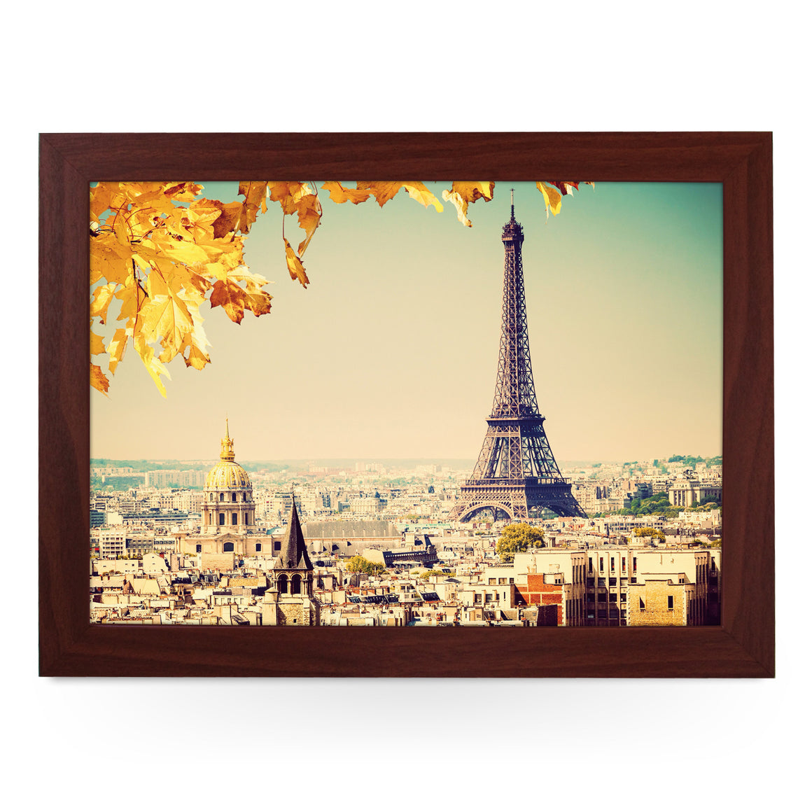 Eiffel Tower In Autumn Lap Tray - L0127