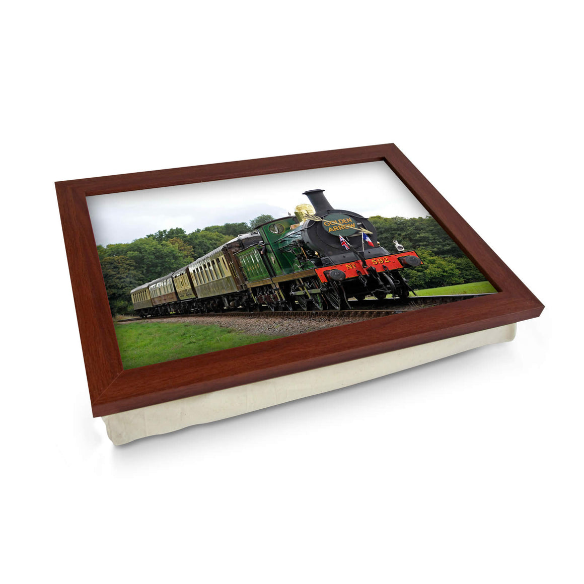 Golden Arrow Train Lap Tray