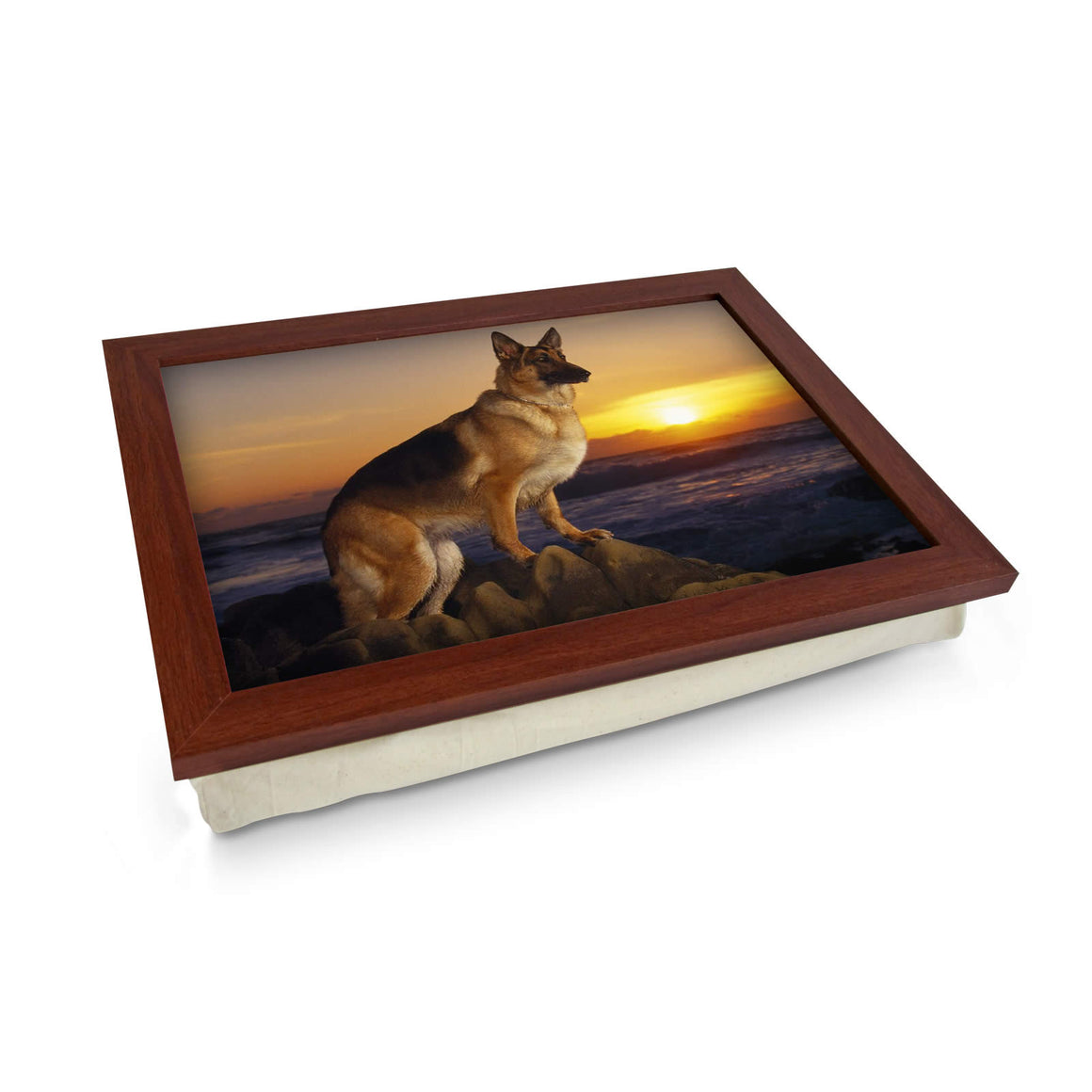 German Shepherd Dog Lap Tray