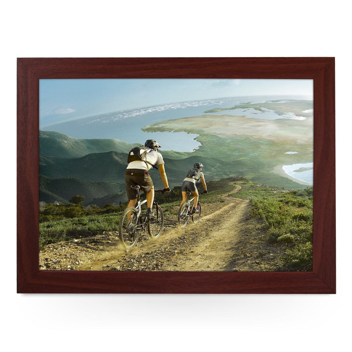 Down Hill Mountain Biking Lap Tray - L0143
