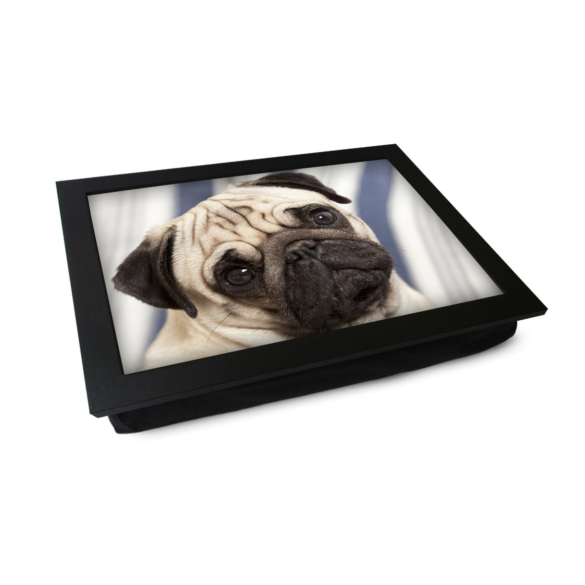 Pug Dog Lap Tray - L0147