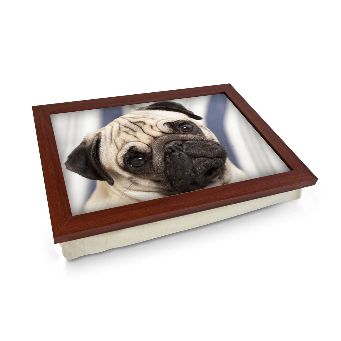 Pug Dog Lap Tray