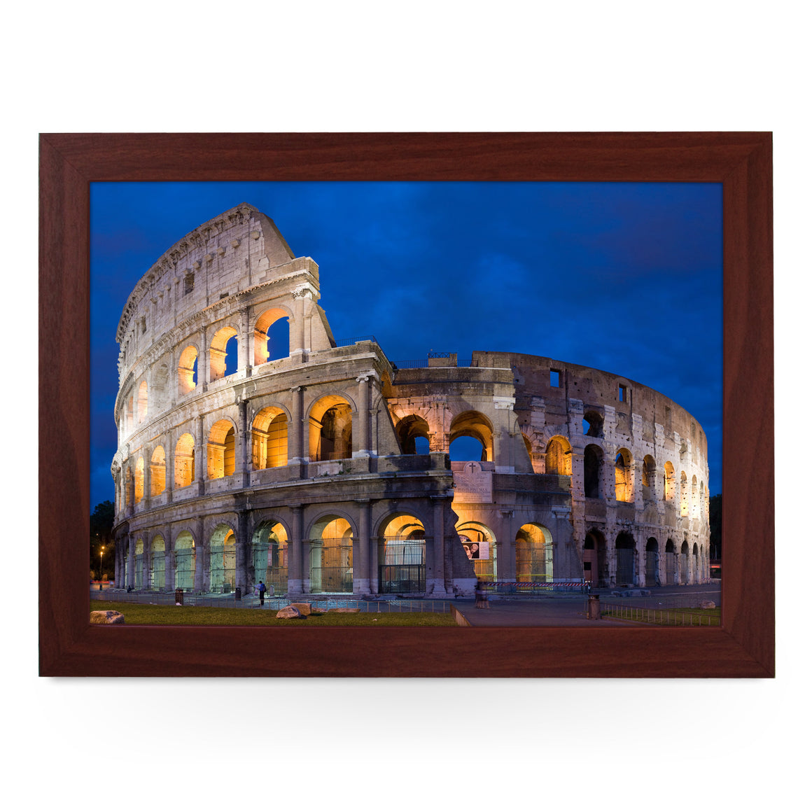 Rome Colosseum At Night Lap Tray - L0149