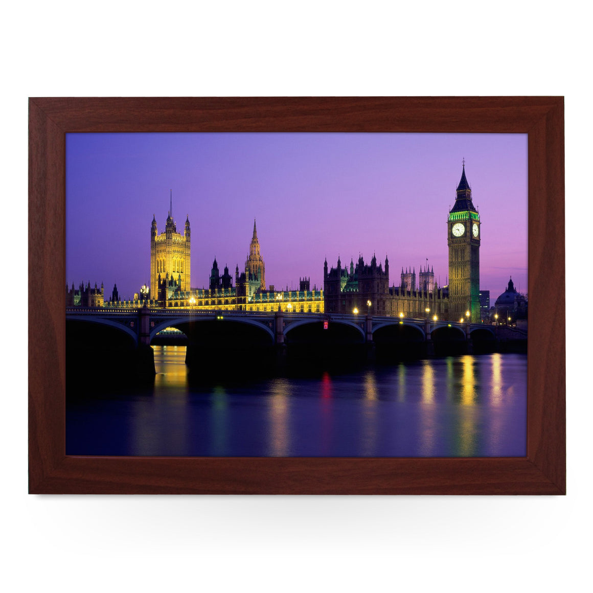 Big Ben, Houses of Parliament at Night Lap Tray - L0163