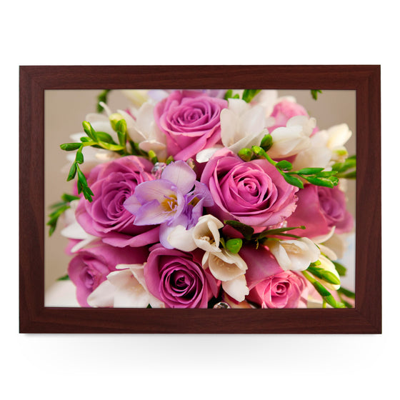 Bouquet Of Flowers Lap Tray - L0168