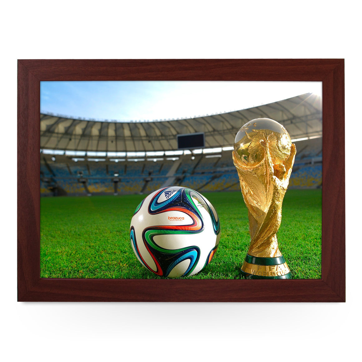 Fifa World Cup & Ball Lap Tray - L0184