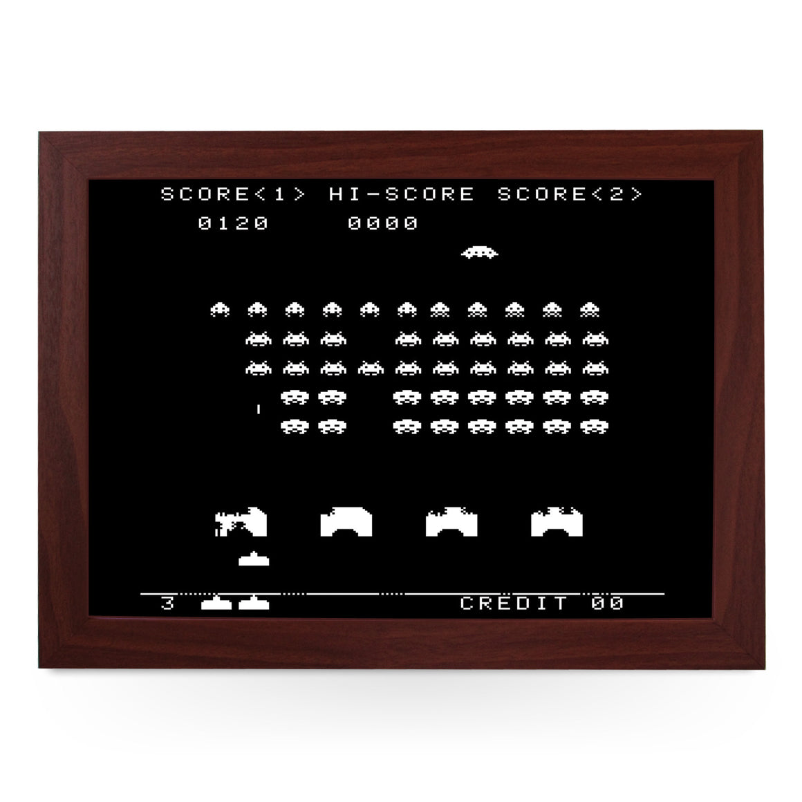 Space Invaders Lap Tray - L0192