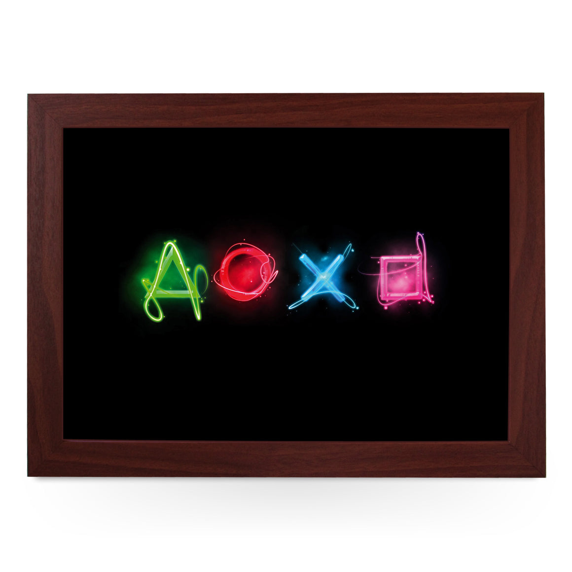 Neon Play Station Buttons Lap Tray - L0201