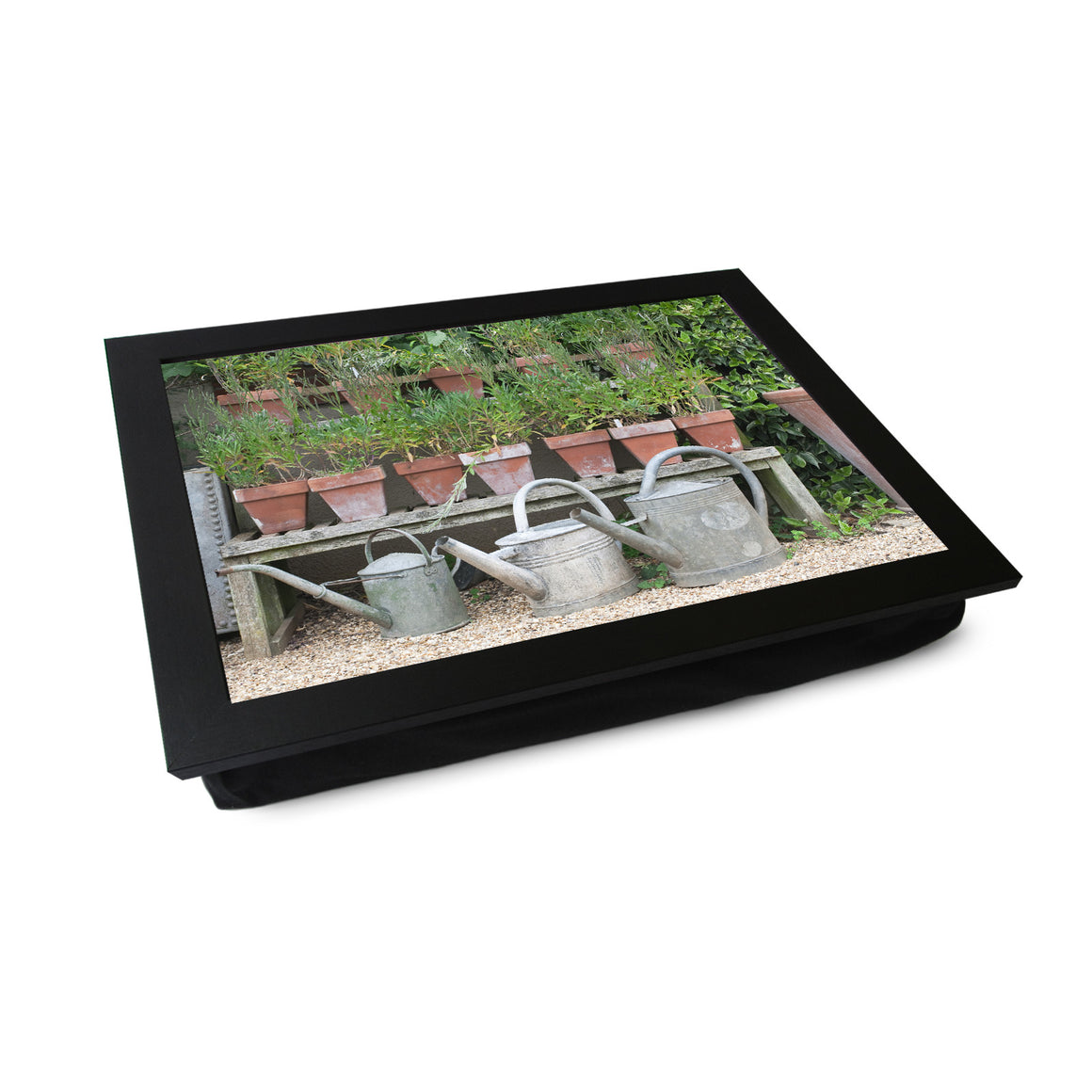 Plant Pots & Watering Cans Lap Tray - L0204