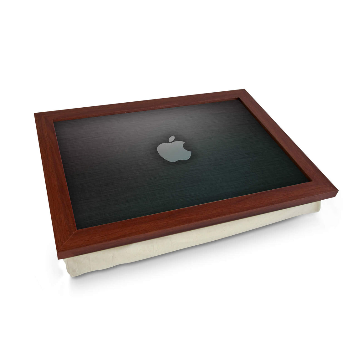 Apple Logo Grey Lap Tray
