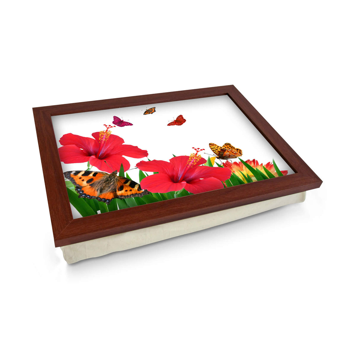 Butterflies & Flowers Lap Tray