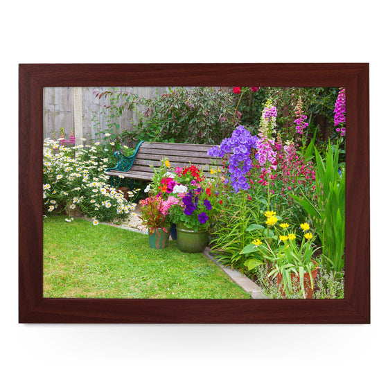 Garden Bench Lap Tray - L0228