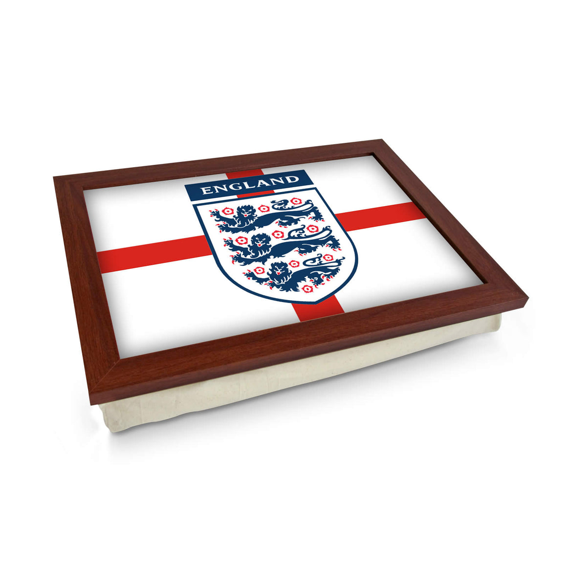 Three Lions England Flag Lap Tray