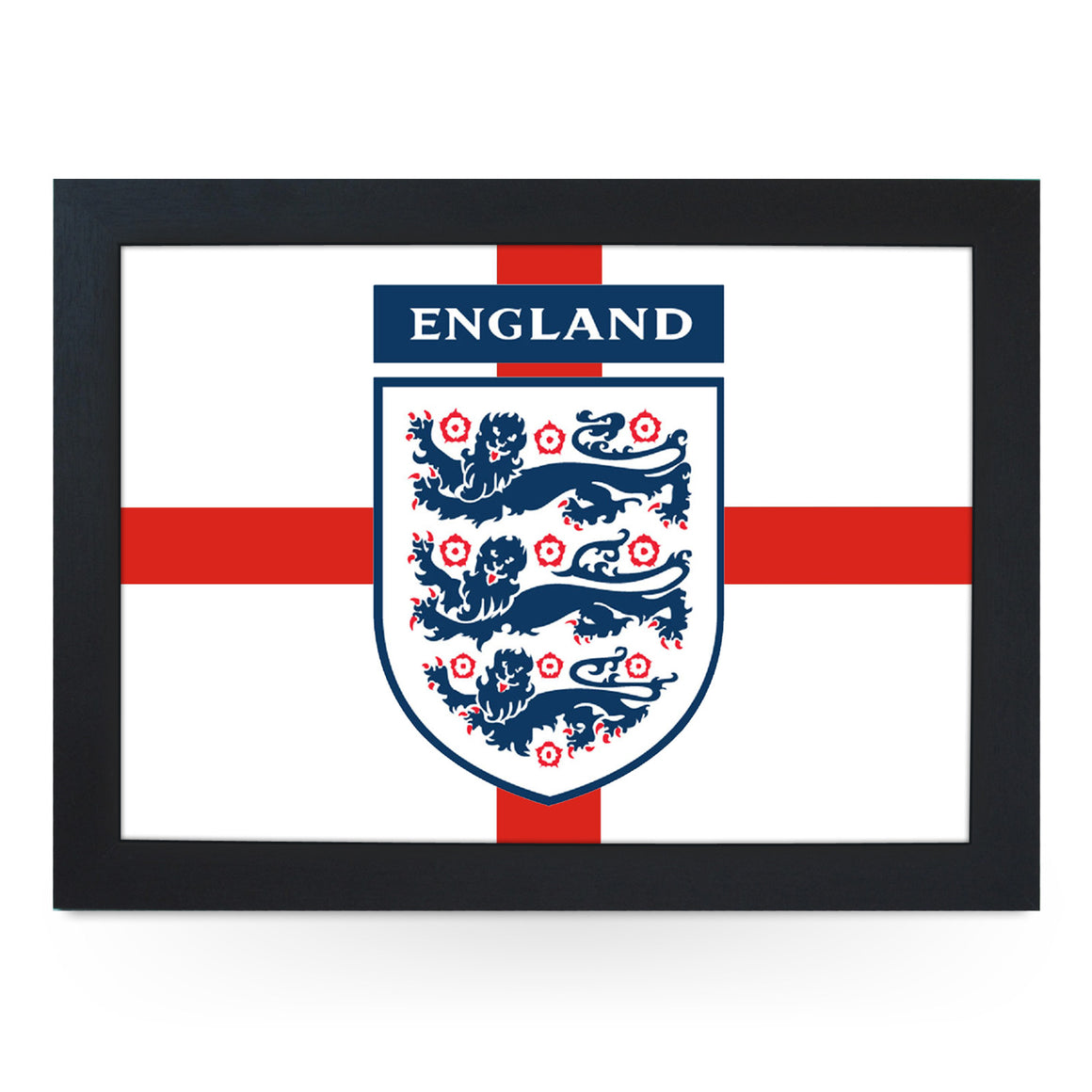 Three Lions England Flag Lap Tray - L0230