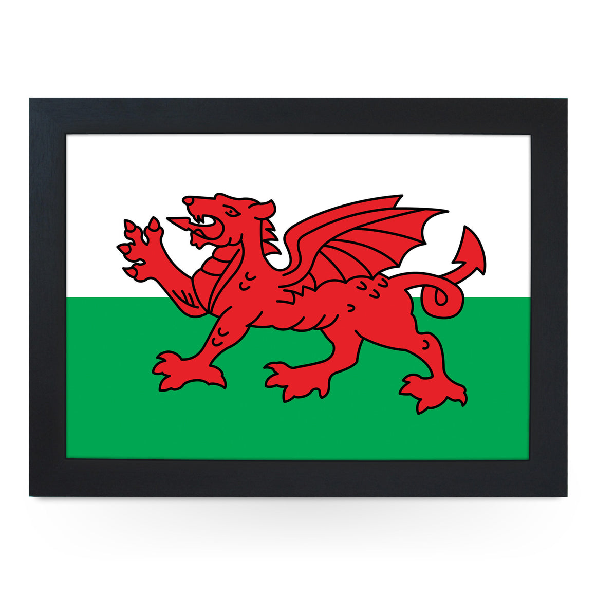 Welsh Red Dragon Lap Tray - L0237