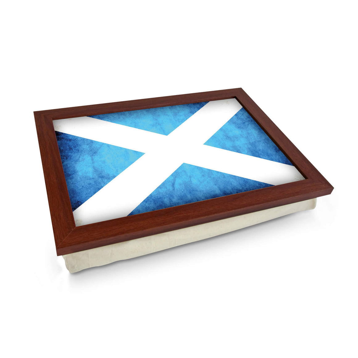 Scottish Flag Grunge Lap Tray