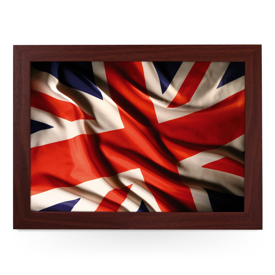 Union Jack Flag Material Lap Tray - L0240