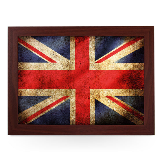 Union Jack Flag Grunge Lap Tray - L0241