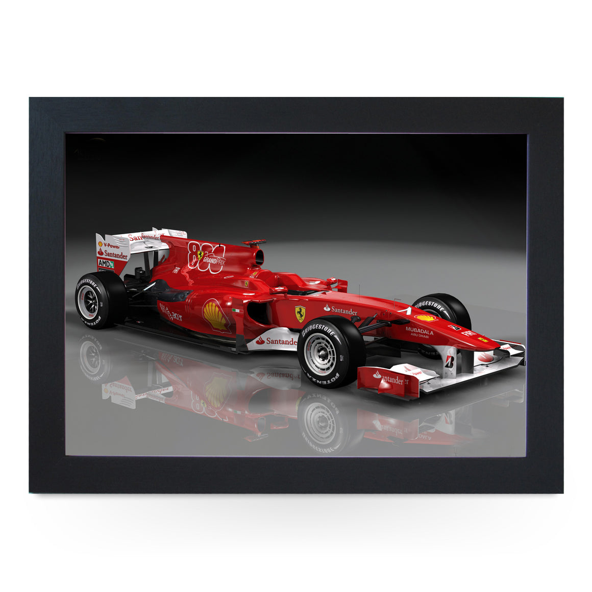 Ferrari F1 Car Lap Tray - L0278