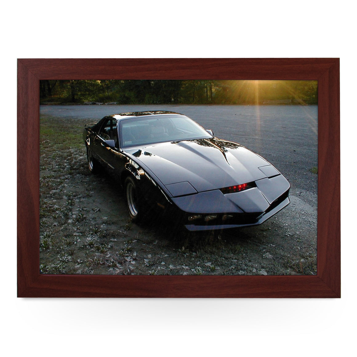 KITT Night Rider Trans Am Lap Tray - L0313