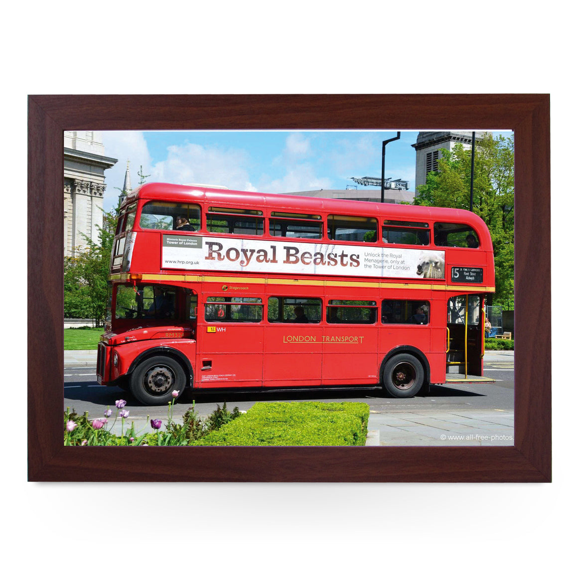 Routemaster Bus Lap Tray - L0334