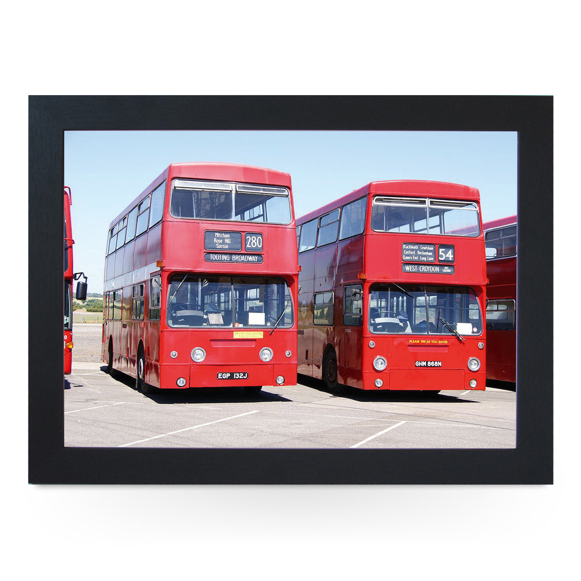 London DMS Daimler Fleetline Buses Lap Tray - L0348