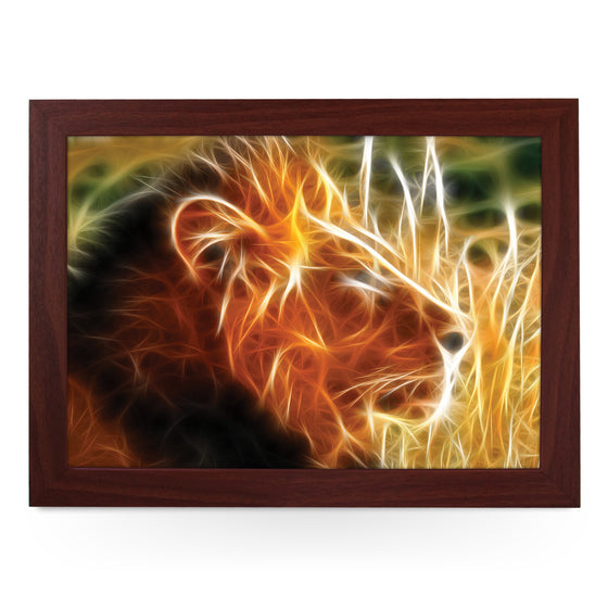 Flame Lion Lap Tray - L0352